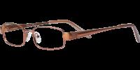 Side view of Alexa designer eyeglass frames