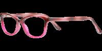 Side view of Marion designer eyeglass frames