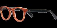 Side view of Ashton designer eyeglass frames