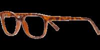 Side view of Broadway designer eyeglass frames