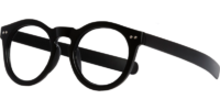 Side view of Albany designer eyeglass frames