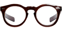 Front view of Albany eyeglass frames