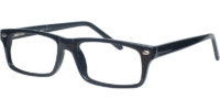 Side view of Beckton designer eyeglass frames