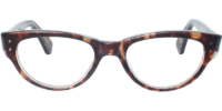 Front view of Abbey eyeglass frames