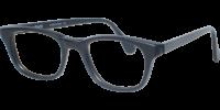 Side view of Coolidge designer eyeglass frames